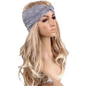 Fashion Women Headwear Twist Sport Yoga Lace Headband Turban Headscarf head Wrap