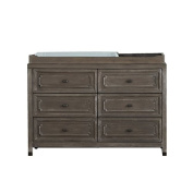DwellStudio Beckett Changing Station in Washed Grey