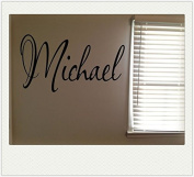 Michael Boys Room Name Nursery Baby Kids Vinyl Wall Art Quote Sticker