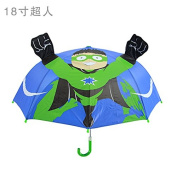 Safe kids umbrella ,fashionable children cartoon umbrella design for boys and girls or students