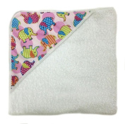 aBaby Infant Hooded Towel, Circus Fun