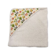 aBaby Infant Hooded Towel, Multi Owl