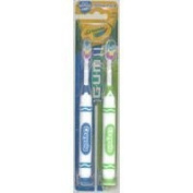 G-U-M Crayola Children's Marker Toothbrush 2 ea by Gum
