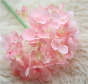 Mynse 10 Pieces Artificial Chinese Daisy Flowers Fake Flowers Pink