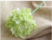 Mynse 10 Pieces Fake Chinese Daisy Flowers Office Home Party Decor Flowers Green
