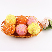 Alician Simulation Sprinkle Artificial Food Cake Puff Kitchen Toy Decoration Fake Cupcake Random Colour