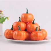 NACOLA Halloween Party Decoration, Simulation Emulational Artificial Foam Mini Pumpkin 5.5CM For Home Decoration,16PCS