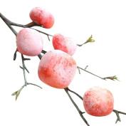 CMrtew DIY Artificial Fruit Pomegranate Berries for Home Garden Office Decoration