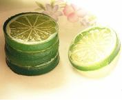Vi.yo 5 pieces Artificial Fake Lemon Slice Fruit Great Home Decoration Resin