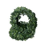 Yalulu 16.4 Yards Artificial Ivy Silk Garland Foliage Green Leaves Fake Vine Leaf Headband for Wedding Party Ceremony DIY Headbands