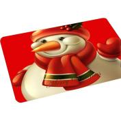 Non-Slip Doormat Christmas Style Santa Claus Kitchen Bathroom Carpet 40cm x 60cm