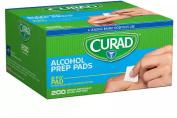 Curad Alcohol Prep Pads 200 Ea