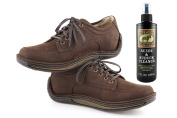 Bickmore Suede & Nubuck Cleaner - Remove Water Dirt Oil Stains From Shoes Boots Purses Handbags & More