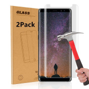 Samsung Galaxy Note 8 Screen Protector, AOKER [[2-PACK]] [Tempered Glass] [Case Friendly] Anti-Scratch [Toughened Shatterproof] Premium Tempered Glass with Lifetime Replacement Warranty