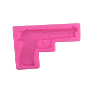 3D Baby Toy Gun Silicone Cake Mould Baking Chocolate Mould Baking Tools