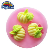 Diyclan silicone moulds for cake decorating fondant mould mini pumpkin pudding chocolate moulds soap mould kitchen bakeware F0462NG35