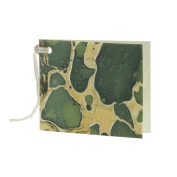 Malachite Green Marbleized Paper Gift Tag Set 36 | Hanging Present String Card