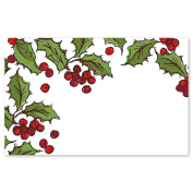 Holly Berries Enclosure Cards / Gift Tags - 3 1/2 x 2 1/4