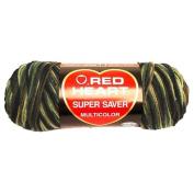 Yarn Red Heart Super Saver Camouflage 150ml - 141 grammes - 236 yards