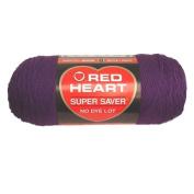 Yarn Red Heart Super Saver Dark Orchid 210ml - 198 grammes - 364 yards
