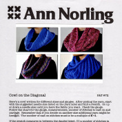 Ann Norling Pattern #72 Cowl On The Diagonal