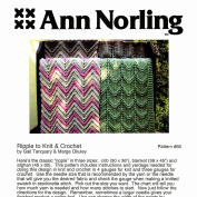 Ann Norling Pattern #66 Ripple Knit & Crochet Afghans