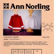 Ann Norling Pattern #48 Capelet/Poncho