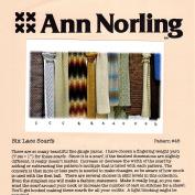 Ann Norling Pattern #46 Lace Scarves