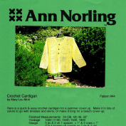 Ann Norling Pattern #44 Crocheted Cardigan