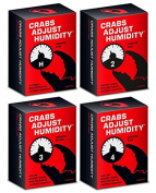 CRABS ADJUST HUMIDITY Card Game Volume 1-4 Packs,Anti-humanit Board Game, Fitted To Party Activity