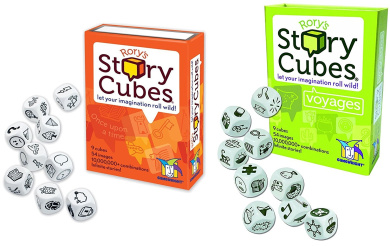 Rory's Story Cubes Bundle with Original Set and Voyages Expansion