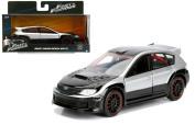 NEW 1:32 JADA TOYS COLLECTOR'S SERIES FAST & FURIOUS - BLACK SILVER BRIAN'S SUBARU IMPREZA WRX STI Diecast Model Car By Jada Toys