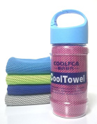 Microfiber Instant Cooling Towel Perfect Sports Towel Camping Beach Outwork Chilly Towel