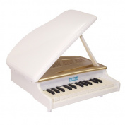 Kawai mini-grand piano white (1118) child infant birthday Christmas present celebration of a birth