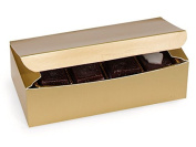 0.5kg Gold Candy Boxes (10 Pack ) 7x 3-1cm x 5.1cm