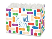 Small Get Well Soon Basket Boxes (6 Pack ) 6-3/4 x 10cm x 13cm
