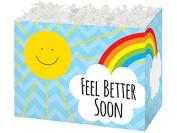 Large Feel Better Sunshine (6 Pack ) 10-1/4 x 6 x 18cm - 1.3cm