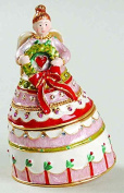 Bejewelled Collection Department 56 Homespun Angel Jewelled Box
