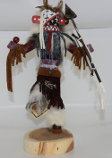 30cm Warrior Kachina