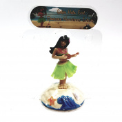 Solar Dancer Hawaiian Girl Hula Dancer Solar/Light Activated Swinging Hips