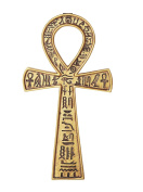 Ancient Egyptian Collectible Ankh Wall Plaque Symbol of Wholeness Vitality and Health