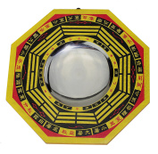 15cm Feng Shui LARGE TRADITIONAL CHINESE CONCAVE BAGUA BRING GOOD POSITIVE ENERGY TO HOME DECOR C12146