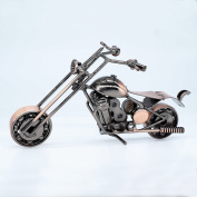 BFRed Creative Iron motorcycle model modern ornaments birthday present for Photography Props