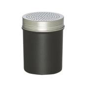 Rhino Coffee Cocoa Shaker Black - Silver Lid -
