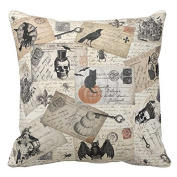 Halloween Pillow Cases,SUPPION Happy Halloween Pillow Cases Linen Sofa Cushion Cover Home Decor(6 kinds of patterns)