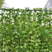RURALITY 29m - 12 Artificial Ivy Plant Faux Ivy Vines Leaves for Wedding,Patio or Yard Decoration
