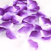 HCSTAR 1200pcs Silk Rose Petals Mixed Colour Artificial Flower Wedding Party Vase Home Decor Bridal Petals Rose Favours