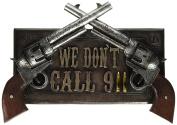 ih casa décor DW-41608 Resin Pistol Sign