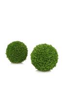 15cm 2 Pcs / Box Decorative Grass Ball In Box