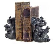 Elephant Bookends Bellaa Beautiful Decorative Book Ends Book